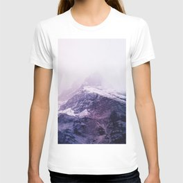 Lavender mountains T-shirt