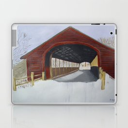 Covered bridge Laptop & iPad Skin