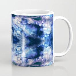 Blue Lagoon Tie-Dye Coffee Mug