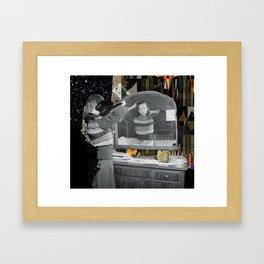Walk On By Framed Art Print