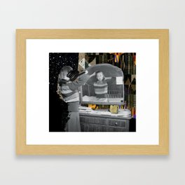 Walk On By Framed Art Print