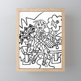 Juju Magic Beauty Framed Mini Art Print