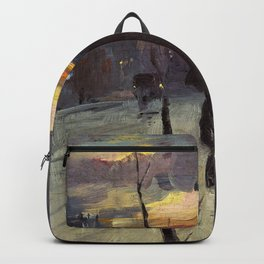 Going Home - Tom Roberts Backpack