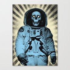 Punk Space Kook Canvas Print