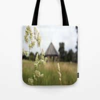 farm Tote Bags featuring Farm by ANArt