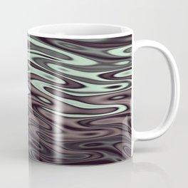 Ripples Fractal in Mint Hot Chocolate Coffee Mug