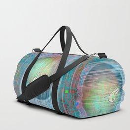 Flying Around the World Duffle Bag