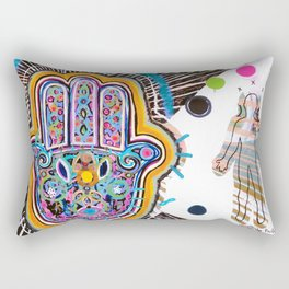 Hamsa Hand II Rectangular Pillow