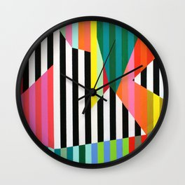 Candy Pop No1 Wall Clock