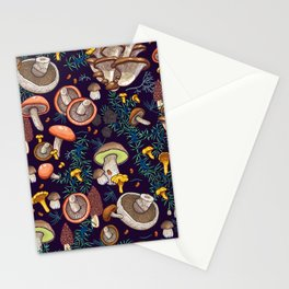 Dark dream forest Stationery Cards