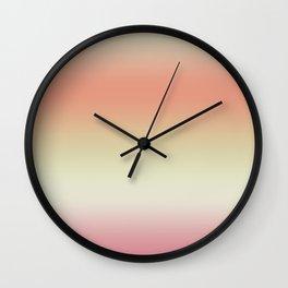 Outono Rose Wall Clock