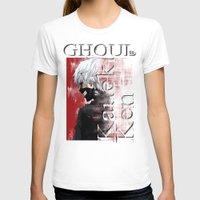 tokyo ghoul T-shirts featuring Kaneki Ken - Ghoul by 666HUGHES