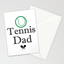 Tennis Dad Fathers Day Gift Love Tennis Stationery Cards