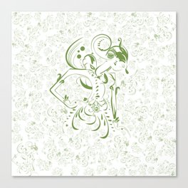 Art of Wayang Canvas Print