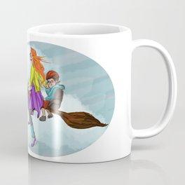 Ginny in flight Coffee Mug