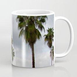 Cloudy Day Palms on the Hillside Coffee Mug