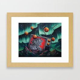 Locoon's Nightmare Framed Art Print