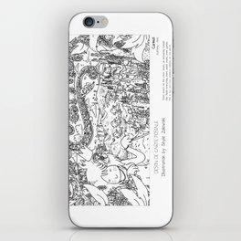 """""""Carmel"""" in words & image (S.Zalewski) iPhone Skin"""