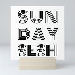 SUNDAY SESSION Mini Art Print