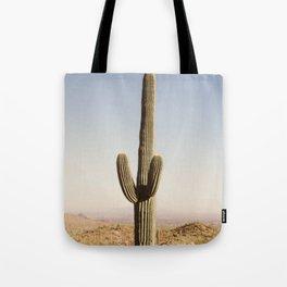 Giant Desert Cactus Tote Bag