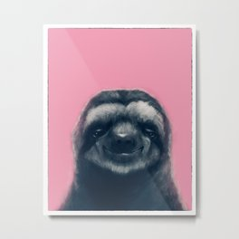 Sloth #1 Metal Print