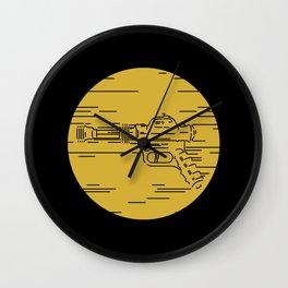 Pew pew pew! Wall Clock