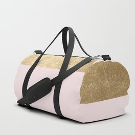 Baby doll - blush pink marble Duffle Bag