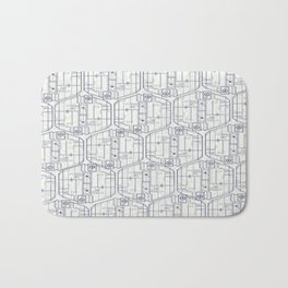 Abstract pattern 4 Bath Mat