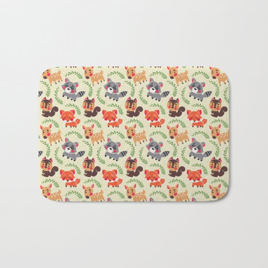 The Happy Forest Friend Bath Mat