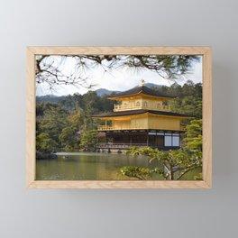 The Golden Pavilion (Kinkaku-ji) Framed Mini Art Print