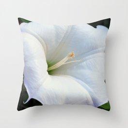Thornapple Flower Throw Pillow