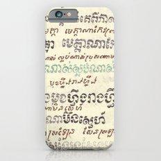 Mou Pei Na - Cambodian Print iPhone 6 Slim Case