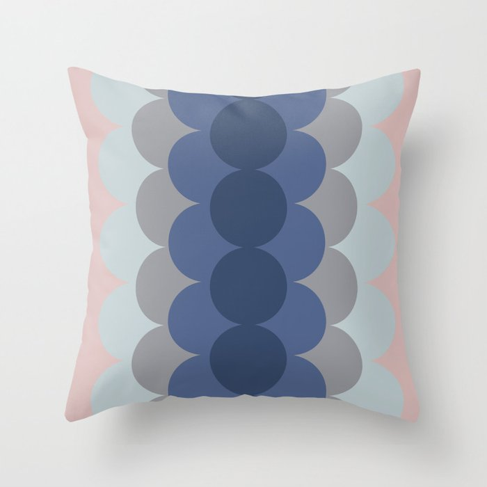 Gradual Pastel Throw Pillow