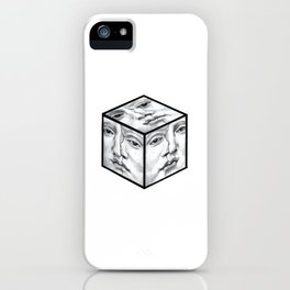 being out of the box iPhone Case