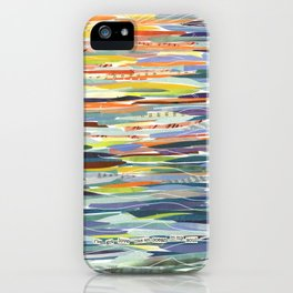 Love Like the Ocean iPhone Case