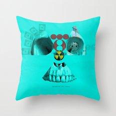 Fokushima mon amour · Strahlende Zukunftsaussichten Throw Pillow