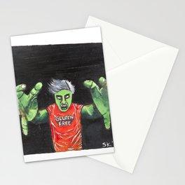 Gluten Free Zombie Stationery Cards