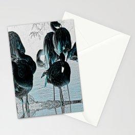 Exotic Flamingos Stationery Cards