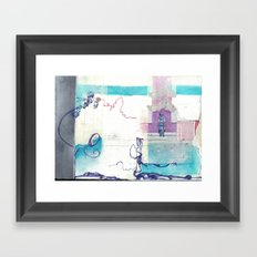 Lost & Found Framed Art Print