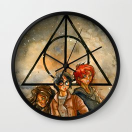 Harry Potter and the Deathly Hallows Wall Clock