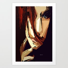 Female Expressions XIII Art Print