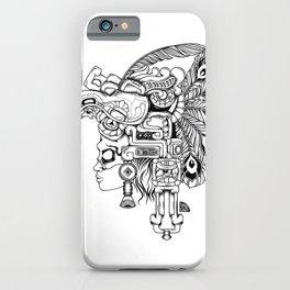 Mayan Warrior iPhone Case