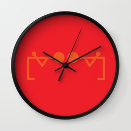 Jeeves Wall Clock
