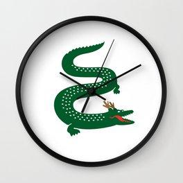 French Dragon Wall Clock