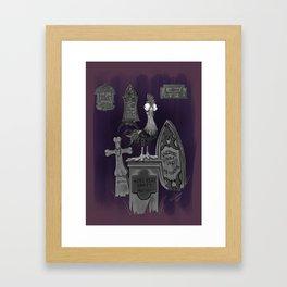 Farewell Hei Hei by Topher Adam 2017 Framed Art Print