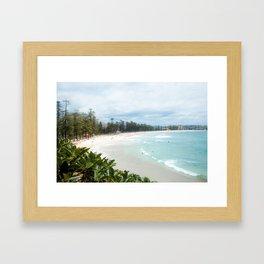 Manly Beach, Australia Framed Art Print