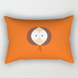 Where is Kenny? Rectangular Pillow
