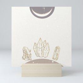The Crystal Garden Mini Art Print