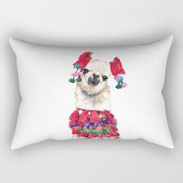 Coolest Llama Rectangular Pillow