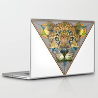 jaguar Laptop & iPad Skins featuring jaguar by David Stone